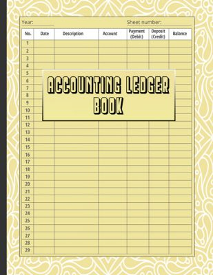 Accounting-Ledger-book