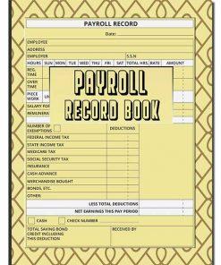 payroll-record-book