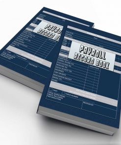 Payroll Record Book for Small Bussiness