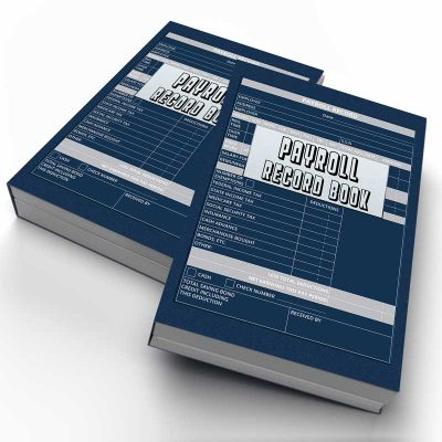 Payroll Record Book for Small Business