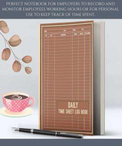 daily time sheet log book