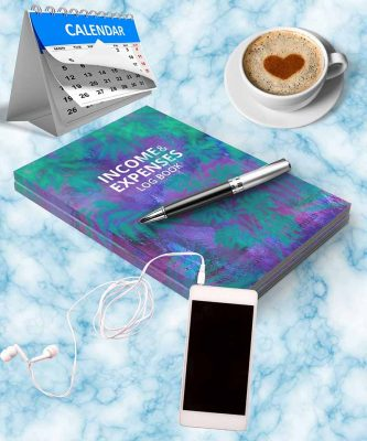 income and expense log book